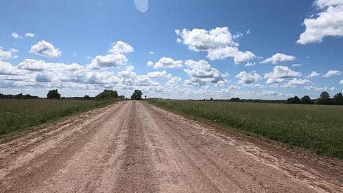 Unconstructed Road though Countryside