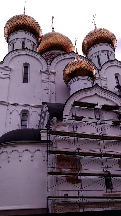 View of Golden Domed Church