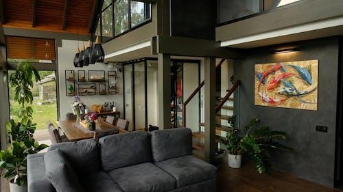 An Interior Design of a Modern House