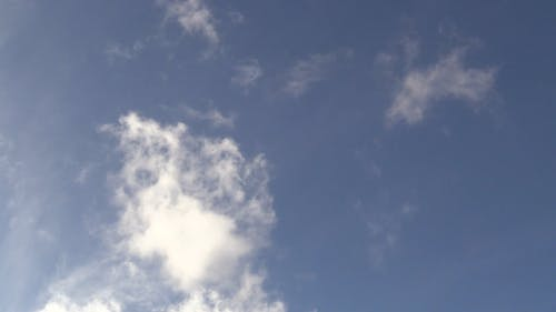 Video of Clouds Moving with Wind