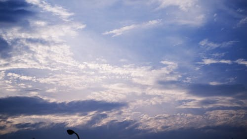 Time Lapse Footage of the Sky