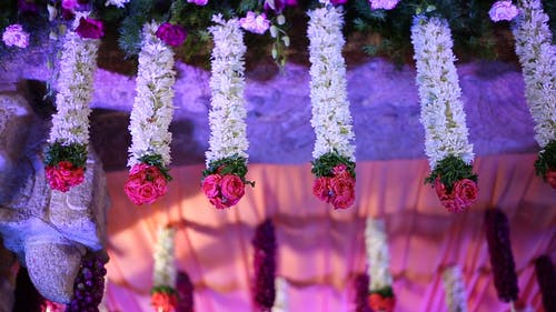 Hanging Floral Decorations