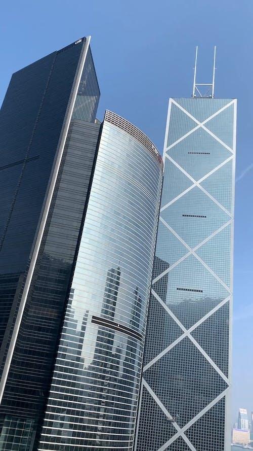 Drone Shot of Breathtaking Skyscrapers