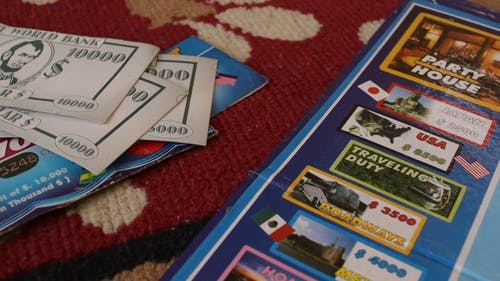 A Board Game Of Monopoly