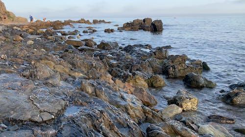 Video Footage Of Rocks Formation In Te Seashore