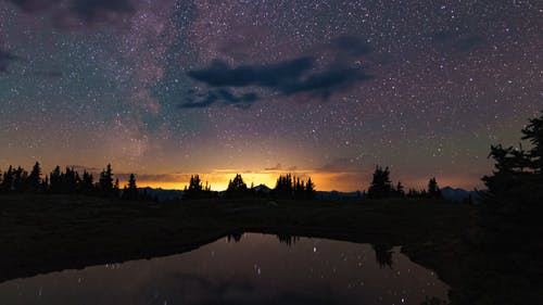 Time Lapse Video Of Star Gazing On A Starry Night