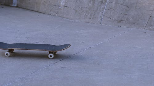 A Person Doing a Skateboard Trick