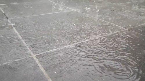 Rain Water Causing Flood On the floor