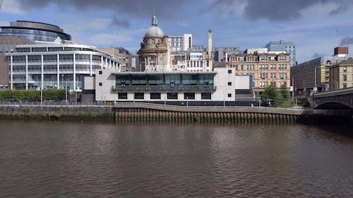 Buildings Across a River