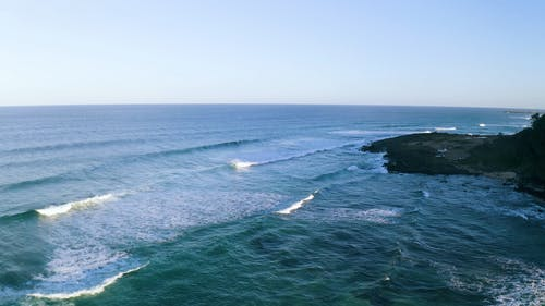 The Waves In The Beaches Of New South Wales Australia