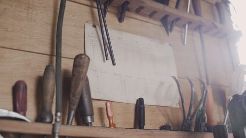 Video Clip Showing Carpentry Tools