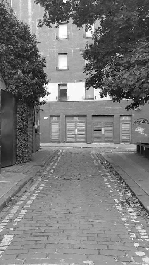 Walking on a Small Street