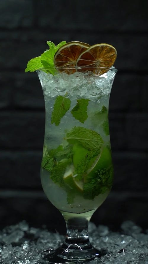 Video Clip of Rotating Cocktail Drink