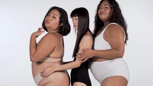 Three Women Looking at the Camera
