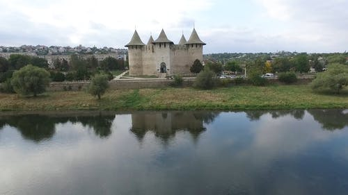 Aerial View of Soroca Fortress