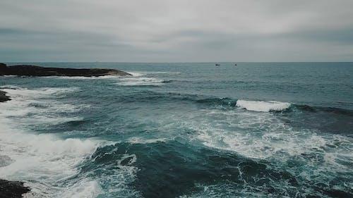 Drone Footage of a Ocean