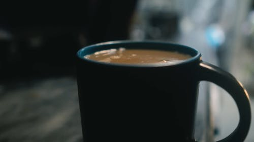 Cup of Coffee Close-Up Video
