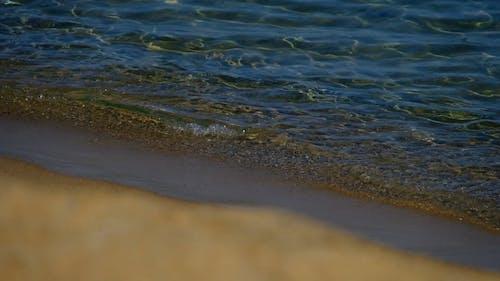 Soft Waves Breaking In The Seashore