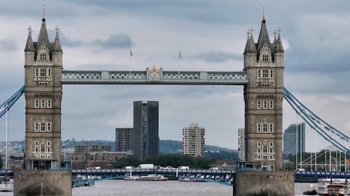 Scenery of Tower Bridge