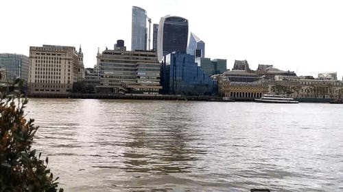 Time Lapse Footage of a City River