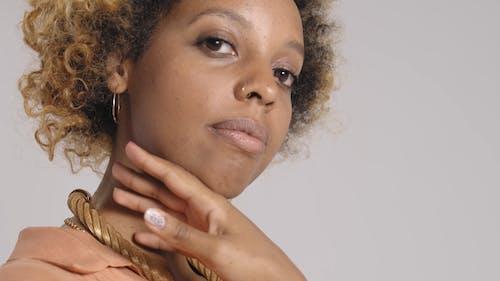 Closeup Video Of a Woman's Face