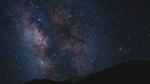 Time Lapse Footage of a Night Sky