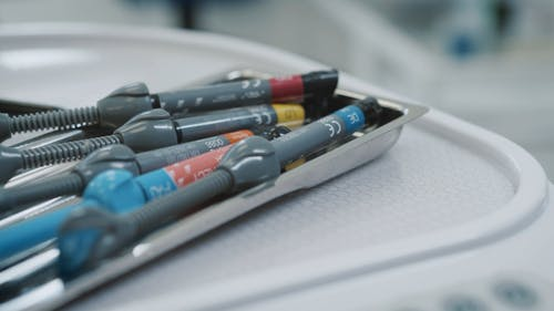 UV Teeth Whitening Tools at Dentist Clinic