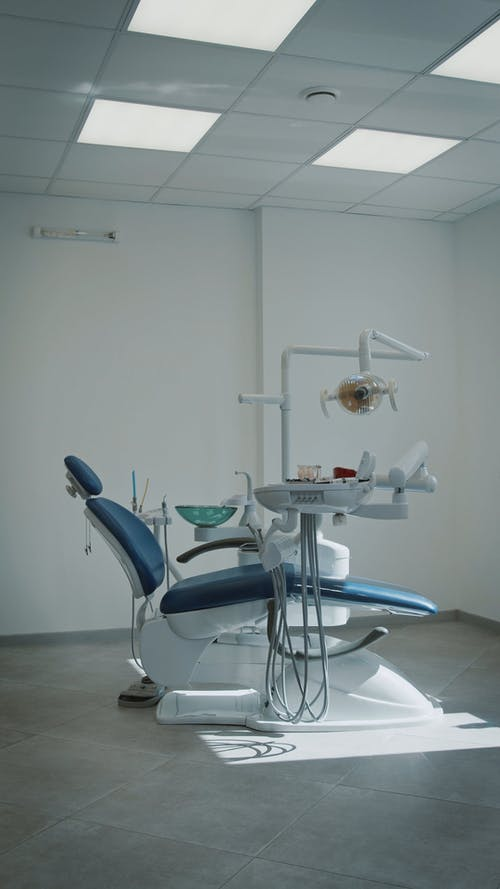 Dental Chair Inside of a Building