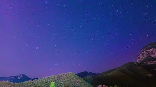 Star Gazing On A Clear Night Sky