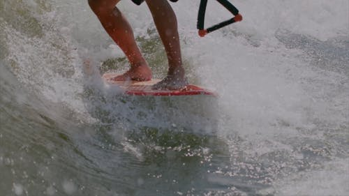 Person Doing Wakeboarding