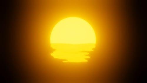Scenic View of Golden Hour