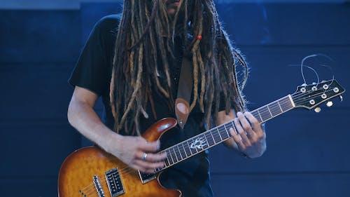A Passionate Rock Guitarist