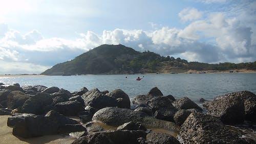 Fishermen Net Fishing Near Shore