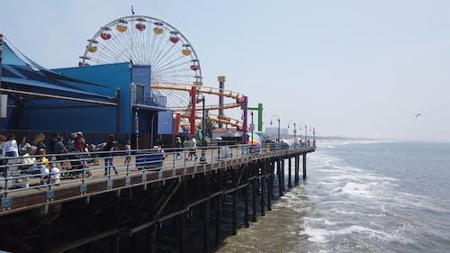 Fairground in Santa Monica Beach
