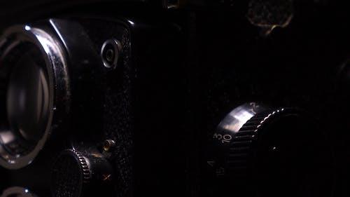 Extreme Close up Yashica Camera