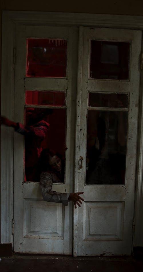 Creepy Zombies Breaking into House