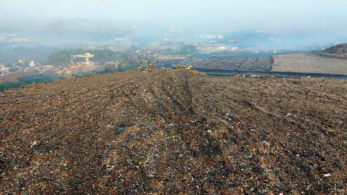 Drone Footage of a Dump Site