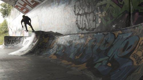 Person Riding a Skateboard