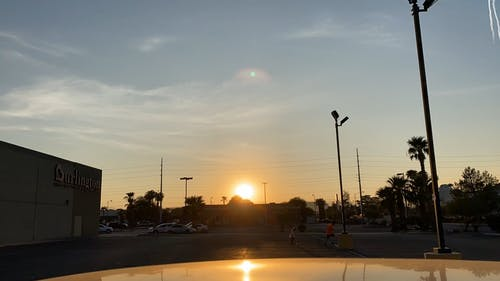 Sunset View at Burlington Departmental Store