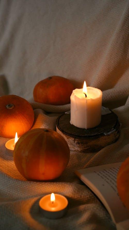 Candles and Pumpkins