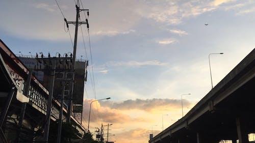Beautiful Evening Video Through a City Street