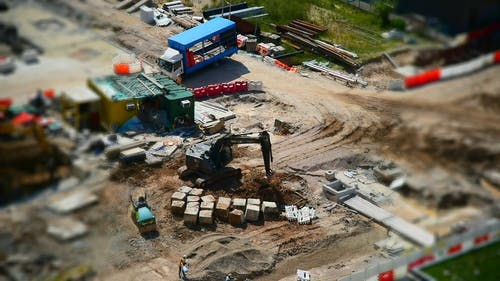 Time Lapse Footage of a Construction Site