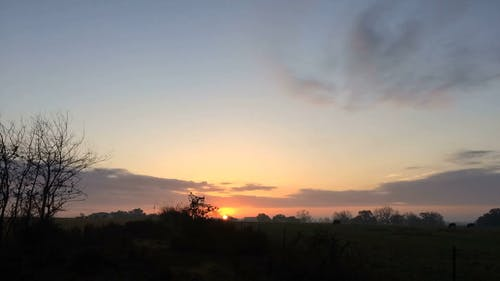 Time Lapse Video of Sunrise