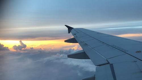 Video of an Airplane Wing