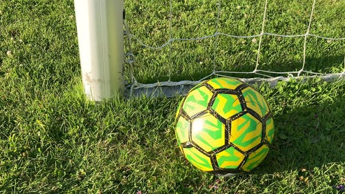 Close Up Video of a Soccer Ball