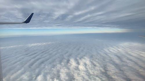 Aerial Shot of Sea of Clouds
