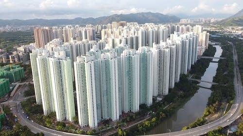 Aerial Video of Tall Buildings