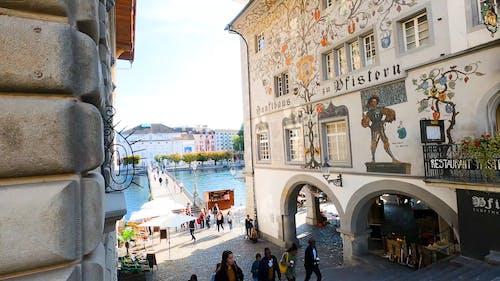A Famous landmark In Switzerland