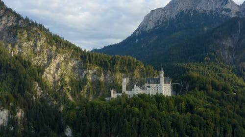 The Ludwig Castle In Bavaria Germany