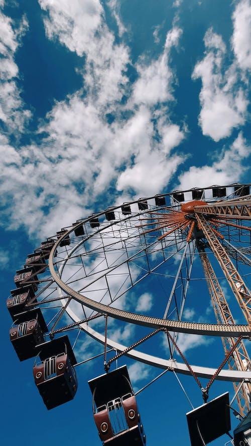 A Ferris Wheel In Operation